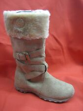 NEW & GENUINE NINE WEST GIRLS BOOTS- Beige  Sizes 12.5 Toddler to 4 Youth  SALE!