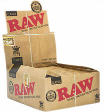 RAW Natural Classic King Size Slim Tobacco Rolling Papers