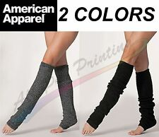 American Apparel Authentic Long Leg Warmer RSALWL Yoga Dance Ballet Made in USA