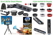 5in1 Kits for iPhone 6 /6 Plus/5S/5C Samsung LG Remote Shutter+Tripod Stand+Lens