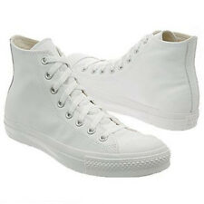 Converse All Star Chuck Taylor Specialty White Monochrome Hi 1T406 Leather Men