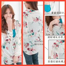 SALE! BNWT MATERNITY NURSING BREASTFEEDING FLORAL 2 PEICE TOP VEST SIZE 10 12 14