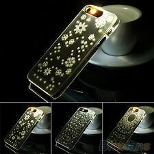 "Stylish Flash Up Light Cover Skin Case For iPhone 4 4s 5 5s 6 4.7"" Plus 5.5"" NW"