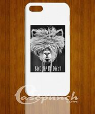 MZ1-Bad Hair Day Funny FOR 3D iphone 5 5s 5c HTC One M7 back cover case