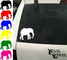 Elephant Vinyl Car Window Decal African Animal iPhone Case Sticker ANY SIZE