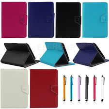 """Universal 8 Inch PU Leather Folio Flip Case Cover Fit For 8"""" 8.4"""" inch Tablet PC"""