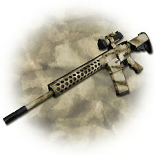 GunSkins AR15/M4 Rifle Skin Camouflage Wrap | Vinyl Camo Kit [multiple patterns]