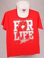 Official AFL Sydney Swans Youth Supporter Tee with plus Bonus cap