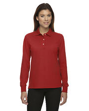 Extreme Ladies' 6.2oz Long Sleeve Piqué Polo Shirt With Teflon® #75042