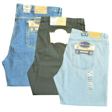 "Mens Jeans Big Size jeans Blue Circle sizes 28"" waist to 60"" Inside leg 27""- 33"""