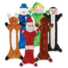 FESTIVE UNSTUFFIES For DOGS Stuffing Free Holiday & Christmas Dog Toys & Gifts