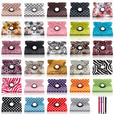 Leather Smart Magnetic 360 Rotating Case Cover For2013 Amazon Kindle Fire HDX 7