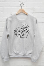 All I Care About Is Pizza and Troye Sivan Jumper TRXYE Youtube Hoodie J1218
