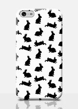 BUNNIES iPhone 6 Plus Case Girly Gift Girl Cute Bunny Rabbit Print Slim Cover