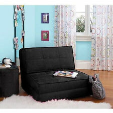 Fold Down Chair Flip Out Lounger Bed Couch Guest Kid's Bedroom Game Guest Dorm