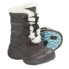 Columbia Children's Heather Canyon Boots Mud, Blue Multiple Sizes US 8-13