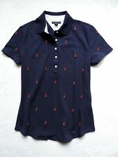 NWT TOMMY HILFIGER WOMENS ANCHOR CRITTER POLO