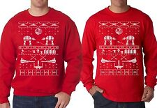 Star wars ugly sweater, Long sleeve shirt funny Christmas tee ugly sweat shirt