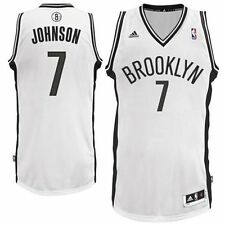 Joe Johnson # 7 Brooklyn Nets  Adidas Stitched Swingman White Youth NBA Jersey