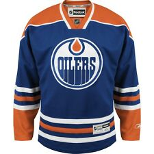 Edmonton OILERS RBK Premier Officially Licensed NHL NEW Home Jersey,