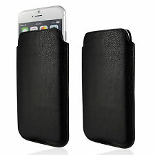 Genuine Leather Case Soft Slim Fit Pouch Sleeve Cover Design Real Wallet Shell