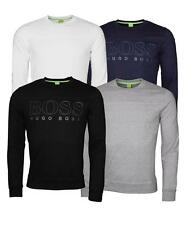 Men's Hugo Boss Print Green Label Crew-Neck Slim Fit Muscle Fit Sweatshirts
