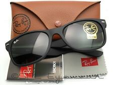 Ray Ban Wayfarer RB2132 622 Matte Black Rubber - Made in Italy Pick Size & Case!