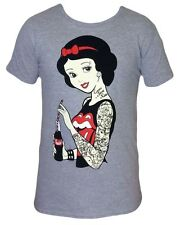 Twisted Snow White Classic Unisex Tshirt Disney Tattoo Rockabilly Tee Shirt Top