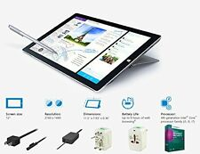 "2014 Newest Microsoft Surface Pro 3 12"" touch screen 2160x1440 QHD Digitizer Pen"