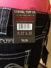 Cowgirl Tuff Co *DFMI Chrome* Ladies *FREE SHIPPING* COWGIRL  NEW STYLE!