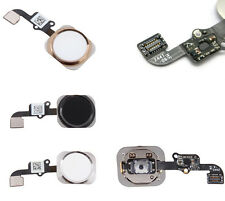New OEM Home Menu Button Flex Cable+Key Cap Assembly Repair For Apple iphone 6