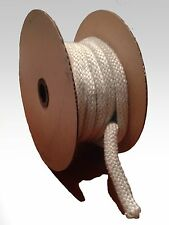 Fiberglass Rope Gasket - Braided White - Wood Stove Replacement - Cut to Length