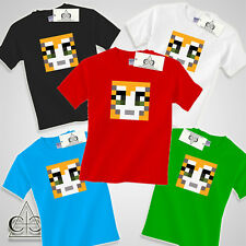 STAMPY KIDS CAT T SHIRT STAMPYLONGNOSE TSHIRT YOUTUBE BOYS GIRL GIFT XBOX GAMER