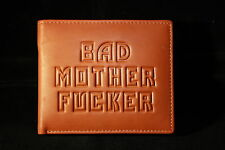 100% Leather Bad Mother Fu**** Wallet-black,tan,brown-'as seen in Pulp Fiction'