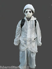 Snow Camo Suits Used White Arctic Winter Airsoft Camouflage Army Military
