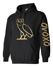 OVO Drake gold owl ovoxo Octobers very own weeknd hoodie New S-XL sweatshirt