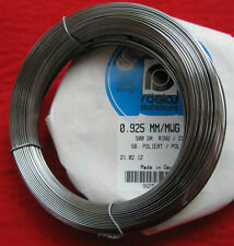 Clock Spring Wire-Full 1/2kg (500gram) Coil-Roslou-Steel-'MAKE YOUR OWN SPRINGS'
