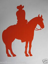 HORSEBACK RIDING Vinyl Decal Sticker *Available in 23 Colors* rodeo horse farm