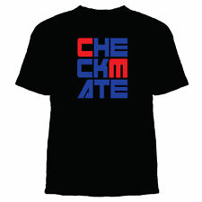 CHECKMATE - Funny Chess Player Game Over Winner Geek Nerd Smart Cool T Shirt