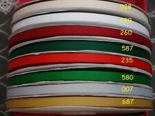 16 yards Mixed 8 style Christmas Grosgrain ribbon Lot 9/16/22/38/50mm