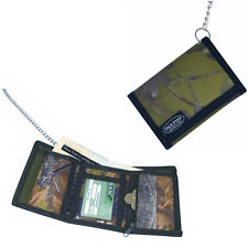 Jack Pyke Folding Wallet On A Strong 60cm Chrome Chain With Sturdy Clip