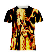 NEW MANGA NARUTO SHUPPUNDEN JAPAN COMICS ANIME COTTON BLEND T-SHIRT