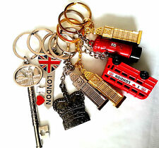 NEW LONDON NOVELTY SOUVENIR KEY RING CHAIN *CHOOSE YOUR OPTION*