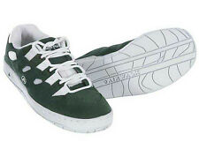 Airwalk Tony Hawk Skate Shoes Forest Green/White Men's Suede Leather Size 8-9.5
