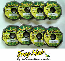 Frog Hair FlyFishing Mono Tippet - 30 Meter Spools - All Sizes Available