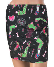 Liquorbrand Limbs Skirt Gothic Derby Zombie Alternative Bodycon Min Pin Up Punk