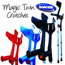 Invacare® 'Magic Twin' Strong Adjustable Crutches
