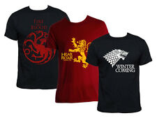 Game Of Thrones T-Shirt Shirt House STARK Lannister Targaryen gift