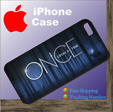 Once Upon A Time drama series New Black Cover iPhone 4 4s 5 5s 5c 6 6 Plus Case