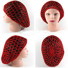 Cool Women Lady Knit Soft Rayon Snood Hair Net Crochet Hairnet  Hat Cap Hairband
